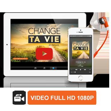 Vidéo subliminale sur-mesure Full HD